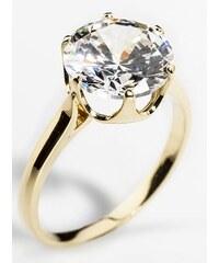 453778070 Zlatokov Dámský zásnubní zlatý prsten se zirkonem cca 585/2,4gr vel.  libovolná