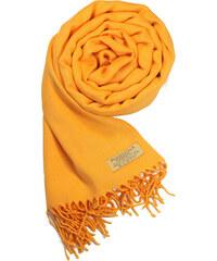 36f0d2a195c Carlo Romani Dámská žlutá pašmína   Dámská žlutá šála