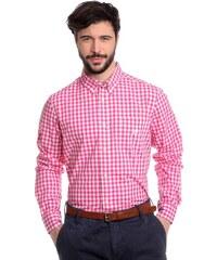 Noize Pánská košile Bright Pink 4446105-00 - Glami.cz 4ac5812a36