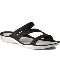 7c3c415f77 Šľapky CROCS - Swiftwater Sandal W 203998 Black White