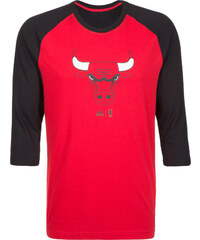 ADIDAS PERFORMANCE Funkční tričko  Chicago Bulls SMR RN  červená   černá d6638cb3189