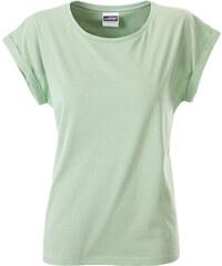 James   Nicholson Dámské ležérní tričko Organic dd2a9ec2d9