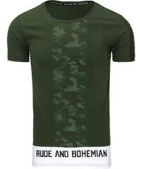 bf228fbbe21e Zelené Pánske tričká s potlačou z obchodu Kokain.sk - Glami.sk