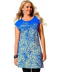 Letní šaty, dlouhá tunika pro plnoštíhlé SHEEGO (vel.44/46 skladem) 44/46 modrá royal Dopravné zdarma!