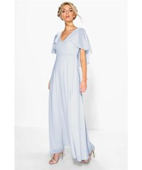 0285cc5586 BOOHOO Mentolové maxi šaty Hollie