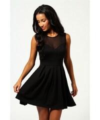 ffb20b427d2a BOOHOO Černé šaty Cheryl