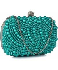 12da9de653 Spoločenská kabelka Pearl - smaragdová