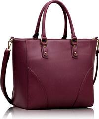 Fialová kabelka LS Fashion LS00233a Purple 0c00e245697