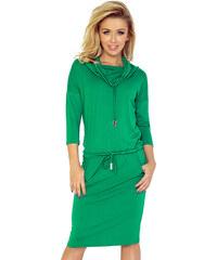 4dbc64c56297 Strikingstyle 44-5 Športové šaty s rolákom   zelené