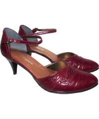 426dfd858fb Dámská společenská obuv NES 2505 vínová