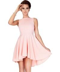 Exkluzivní dámské šaty NUMOCO 33-1 růžové XL XL 1656760908