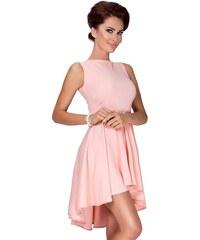 NUMOCO Dámské šaty s asymetrickou sukní 9d783d3021