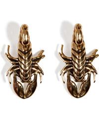 Pamela Love Brass Scorpion Stud Earrings