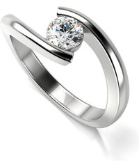 Eppi Zásnubný platinový prsteň s diamantom Safi fe37d2f36fc