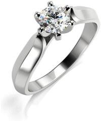 Eppi Zásnubný platinový prsteň s diamantom Malcom f2055b959b0