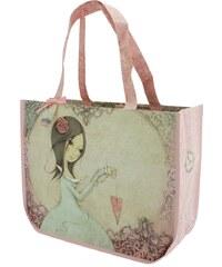 580b8e8997e7 Santoro London - Bevásárló táska - Mirabelle - All For Love Világos  rózsaszín, bézs