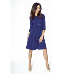 8c09df73b0e KARTES Dámské šaty Klasická elegance tmavě modré