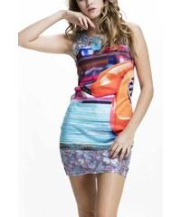184c32efd0ae Culito from Spain farebné šaty Telefono Naranja