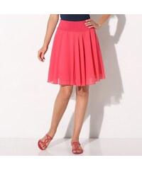 3e26bea18746 Blancheporte Jednobarevná rozšířená sukně malinová