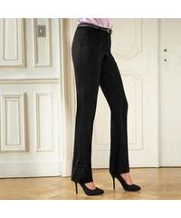 Blancheporte Kalhoty s příměsí vlny černá cad2078064
