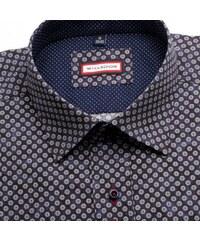975d7ff64b2 Willsoor Pánská slim fit košile (výška 176-182) 5160 v modré barvě s