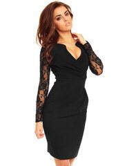 89f27b62801 KARTES Dámské šaty Andalusie černé
