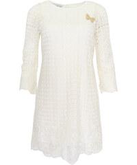 b81c40e6762 Krajkované bílé šaty Rinascimento