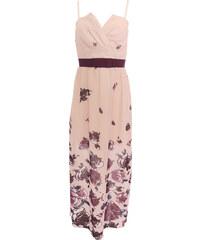 9c312ecc989 Dlouhé růžové šaty Rinascimento