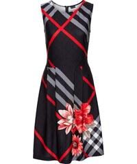 BODYFLIRT boutique Bonprix - robe d été Robe à carreaux rouge sans manches  pour femme 6ea4a0563dac