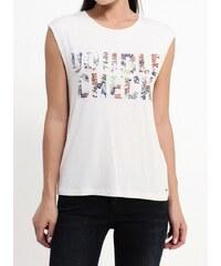 bd23f5f2ea5 Pepe Jeans dámské smetanové tričko Julias