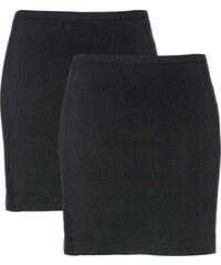 d3cc7e77f57c bonprix Strečová sukně (2 ks v balení)