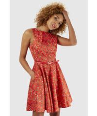 a01a1e86d91b Dámské šaty Closet Cabernet Sauvignon