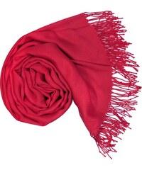 Carlo Romani s. r. o. Dámská červená pašmína   Dámská červená šála e6ad37e01c