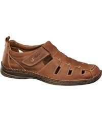 ea5b71fd7c9c Gallus Pánske kožené sandále