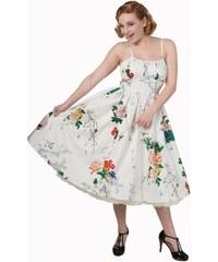 c54758d8396 BANNED Dámské šaty Great Gatsby černé s dlouhým rukávem - Glami.cz