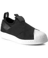 3042725ece Cipők adidas - Superstar SlipOn BZ0112 Cblack/Cblack/Cblack