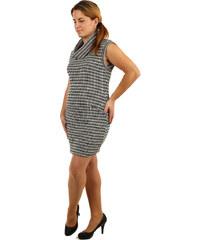 TopMode Dámské úpletové šaty bez rukávů (černá 96cd609dcb