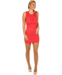 Glara Krátké sexy úpletové mini šaty a544b4cb9d