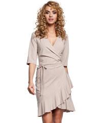 0f7a11f161b Béžové šaty MOE 294