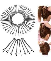 Fashion Icon Sada vlasové sponky 45 mm lakované 50 ks 37a66475f7