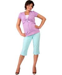 acd7a683481 Těhotenské a kojicí tričko Rialto DELUT fialová 0254