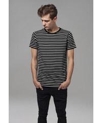 297e2578346 Urban Classics Pánske tričko Striped Teeblk wht