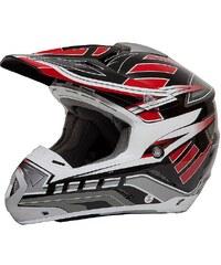 Motocross Helm, Saiko, für Moped, Roller und Motorradfahrer, rot, unisex