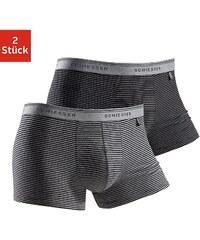 Schiesser Boxer (2 Stück) modische Retro Pants mit garngefärbten Streifen in Top-Markenqualität