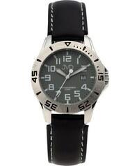 Černé chlapecké vodoodolné dětské náramkové hodinky JVD J7177.4 0b9d3092c49