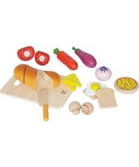Hape Set: Lebensmittel aus Holz, »Kleiner Küchenchef«