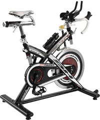 Indoor Cycle, schwarz-silber, »BT Aero«, BH-Fitness