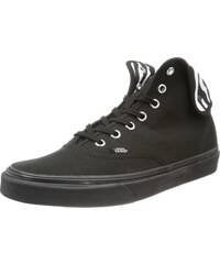 U Authentic Hi 2, Baskets mode mixte adulte - Noir (Zebra Black/B), 34.5 EU (3.5 US )Vans