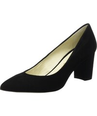 Diana Pointed, Escarpins Femmes, Noir (Black/White), 37 EUT.U.K.