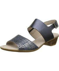 Gabor Shoes Damen Comfort Offene Sandalen mit Keilabsatz, Blau (Jeans Ocean  36) 82bc991221